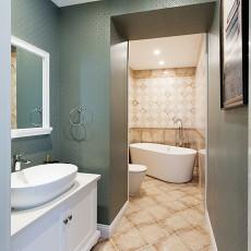 热门欧式三居卫生间装修实景图片欣赏