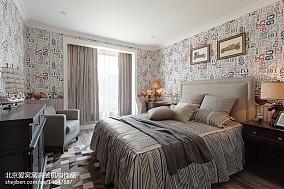 精选108平米三居卧室欧式装修图片大全
