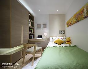 日式现代儿童房设计装饰效果图