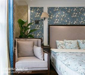 清新美观现代风格二居室设计效果图