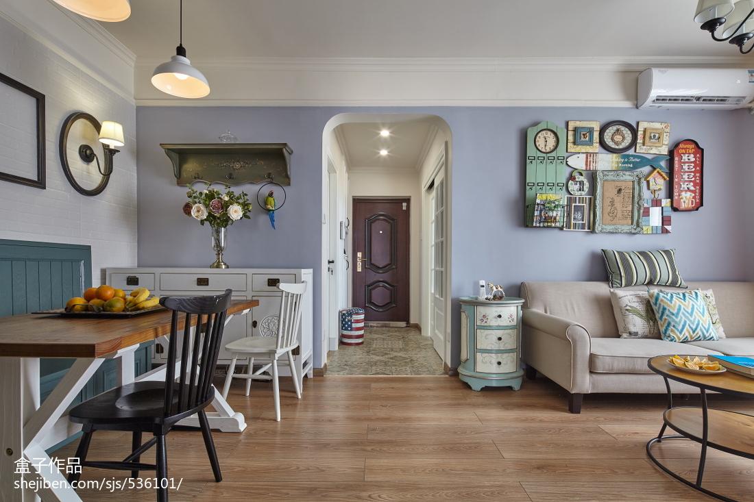 精选面积90平混搭二居客厅装饰图片欣赏客厅