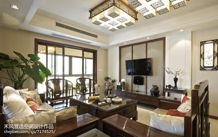 家装美式风格背景墙设计客厅