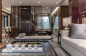 精美中式客厅装修实景图片样板间中式现代家装装修案例效果图