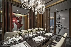 精选餐厅中式装修图片大全样板间中式现代家装装修案例效果图