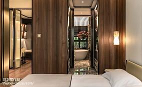 2018中式卫生间效果图样板间中式现代家装装修案例效果图