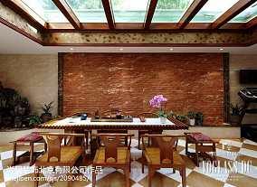 热门面积115平别墅休闲区新古典装修设计效果图家装装修案例效果图