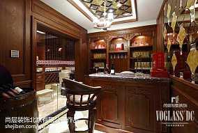 简洁718平新古典别墅装修图片别墅豪宅美式经典家装装修案例效果图