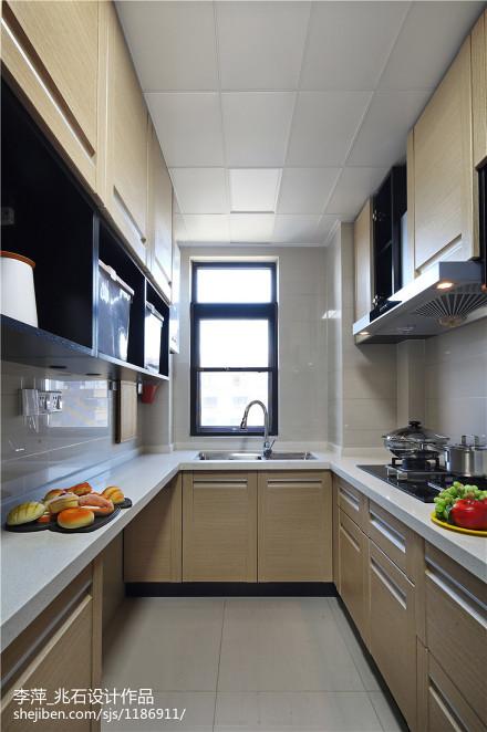 家居现代风格厨房装修图餐厅