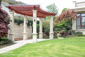 热门142平米美式别墅花园实景图片欣赏功能区美式经典设计图片赏析