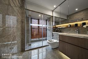 热门卫生间混搭装修图片卫生间潮流混搭设计图片赏析
