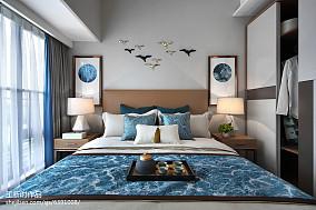 简约混搭风格卧室布置卧室潮流混搭设计图片赏析