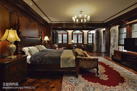 2018现代卧室实景图片大全样板间现代简约家装装修案例效果图