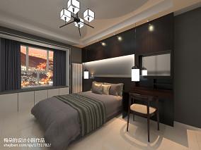 简美小居卧室效果图