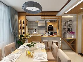 设计北欧45平米一室一厅装修客厅