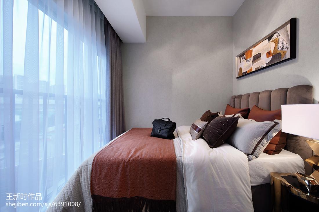 时尚混搭风格卧室装饰图卧室潮流混搭卧室设计图片赏析