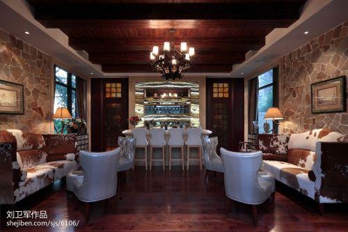 2018别墅休闲区混搭欣赏图片厨房沙发501-1000m²潮流混搭家装装修案例效果图