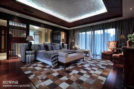 精选123平方混搭别墅卧室装修设计效果图片