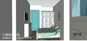 靓丽小面积主卧室图片