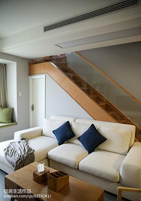 精选日式三居客厅装修实景图