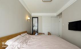 2018精选105平米三居卧室日式装饰图片大全