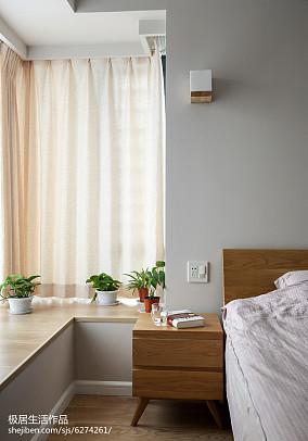 精选面积96平日式三居卧室装修效果图片欣赏