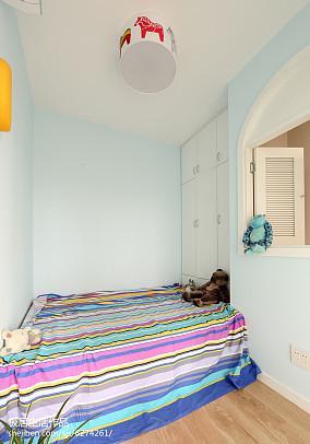 精美面积91平日式三居卧室装饰图