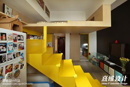 明亮33平混搭小户型卧室装修效果图卧室