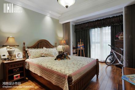 面积105平简欧三居儿童房效果图片