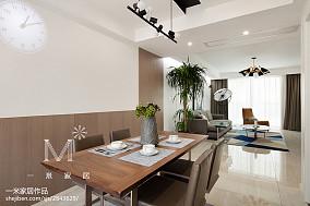 精选78平米二居餐厅北欧装修效果图二居北欧极简家装装修案例效果图