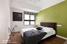 2018面积86平北欧二居卧室装修欣赏图片二居北欧极简家装装修案例效果图