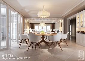 138平米欧式别墅客厅装修设计效果图