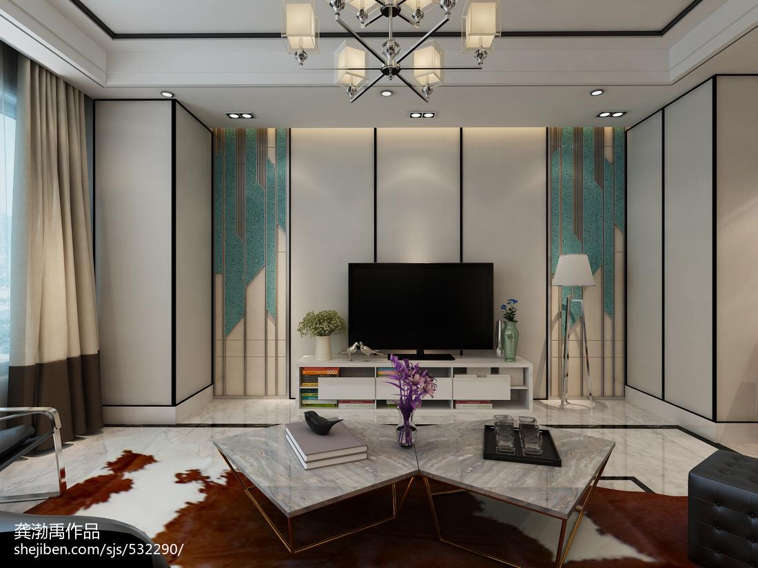 时尚现代风格背景墙装修效果图功能区窗帘现代简约功能区设计图片赏析
