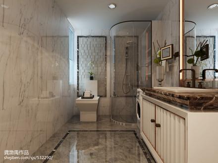 典雅现代风格卫浴装修