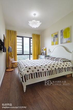 浪漫113平北欧四居卧室图片大全四居及以上北欧极简家装装修案例效果图