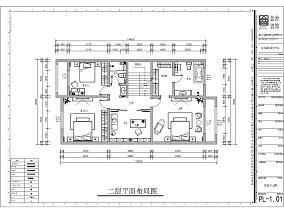 质朴257平新古典别墅设计图