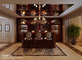 小别墅楼梯在客厅图片