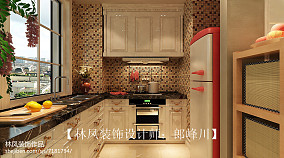 北欧清新厨房设计效果图