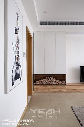 热门108平米三居客厅简约装修效果图