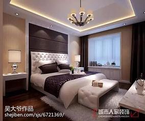 热门中式二居卧室装修图片