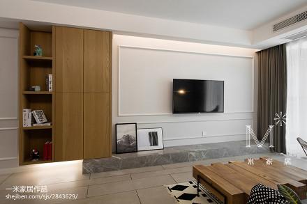 优美66平北欧二居装修设计图