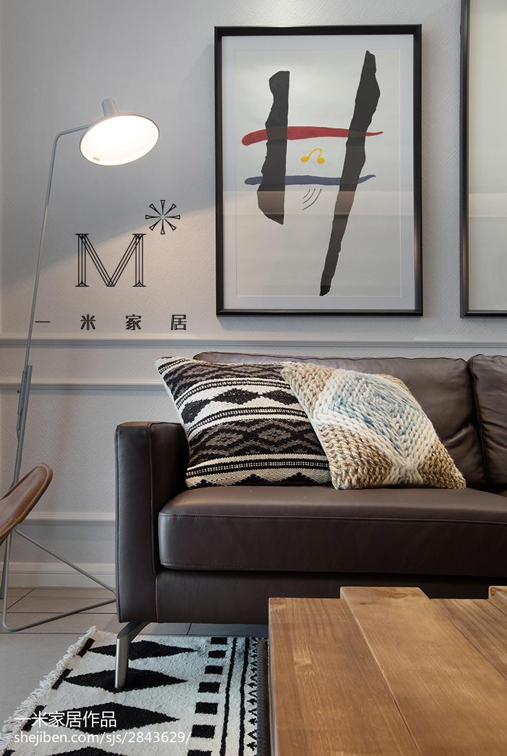 2018精选71平米二居客厅北欧装修欣赏图片客厅