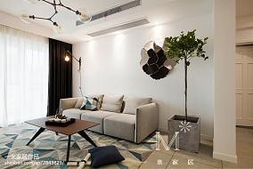 精选北欧二居客厅欣赏图片大全二居北欧极简家装装修案例效果图