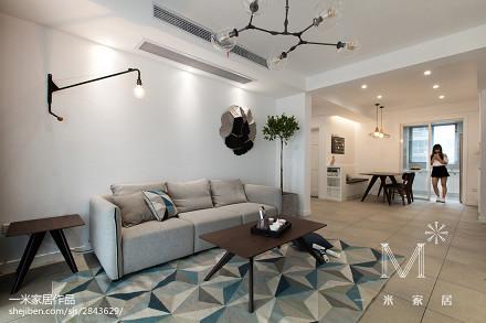 精选二居客厅北欧装饰图片