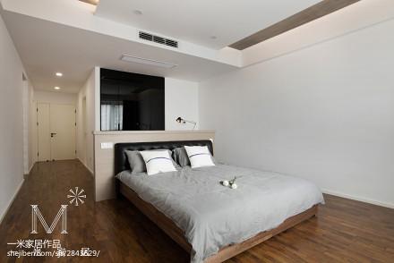 面积80平现代二居卧室实景图片大全