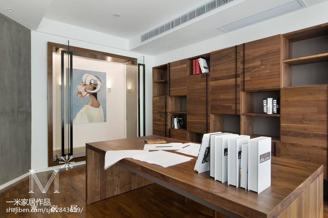 2018二居书房现代欣赏图现代简约设计图片赏析