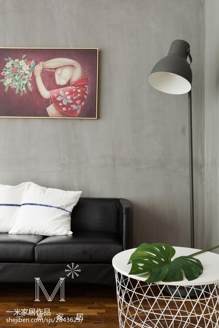 精选74平米二居书房现代装修图片大全功能区沙发现代简约功能区设计图片赏析