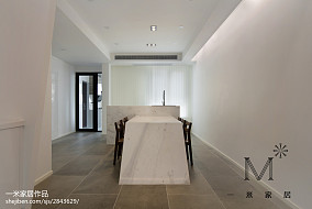 面积84平现代二居餐厅设计效果图