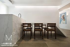 热门84平米二居餐厅现代装修效果图片欣赏