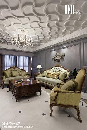 精选美式三居客厅欣赏图