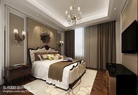 悠雅620平新古典别墅卧室设计效果图